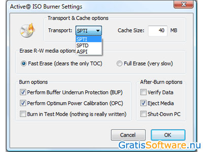 Active ISO Burner screenshot