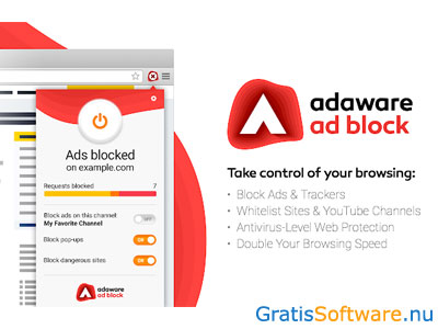 Adaware Ad Block screenshot