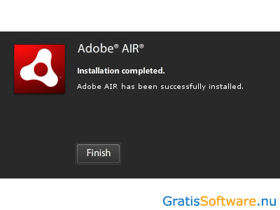 Adobe AIR screenshot