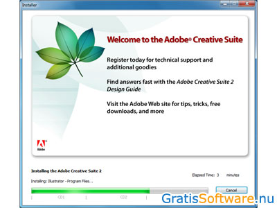Adobe Creative Suite 2 screenshot