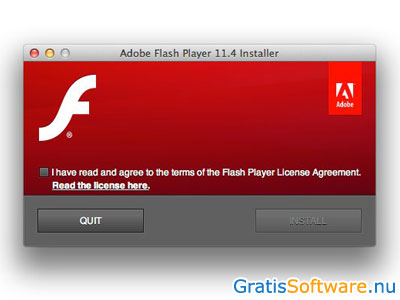 Adobe Flash Player screenshot