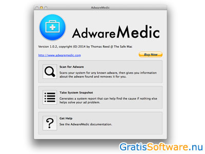 AdwareMedic screenshot