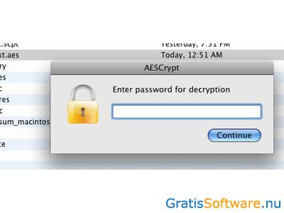 AES Crypt screenshot