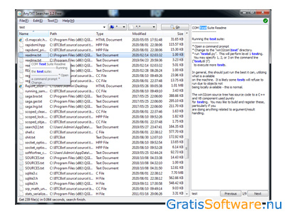 AnyTXT Searcher screenshot