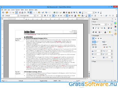 Apache OpenOffice screenshot