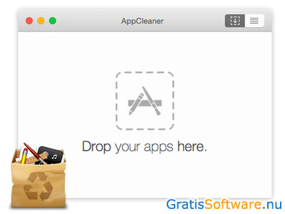 AppCleaner voor Mac screenshot