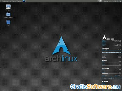 Arch Linux screenshot
