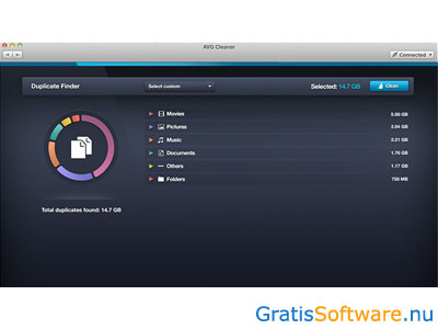 AVG Cleaner voor Mac screenshot