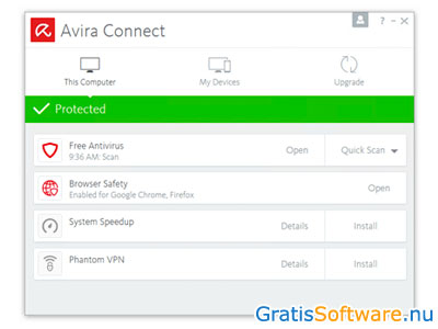 Avira Antivirus screenshot