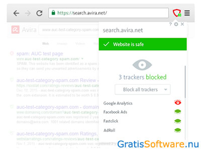 Avira Browser Safety screenshot