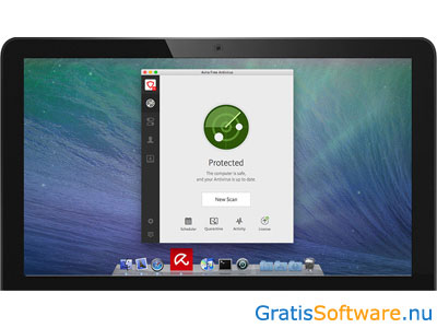 Avira Free Mac Security screenshot