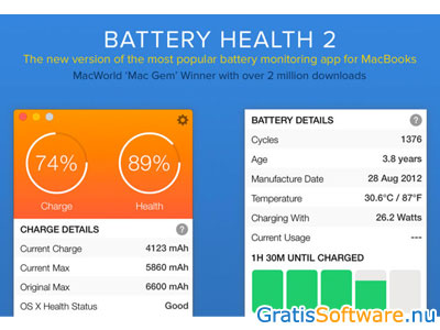 Battery Health screenshot
