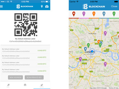 Blockchain for the iPhone screenshot