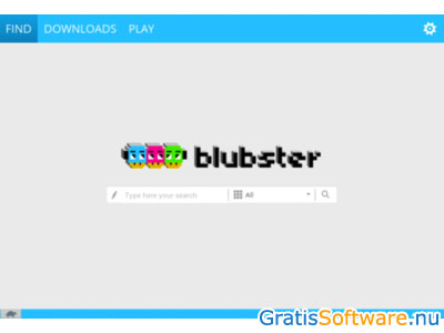 Blubster screenshot