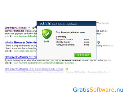 Browser Defender screenshot