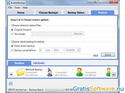 Windows 7 BuddyBackup 2.0.2.4 full