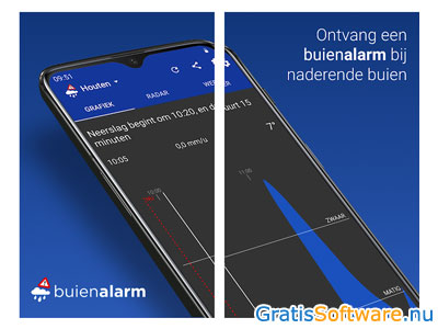 buienalarm screenshot