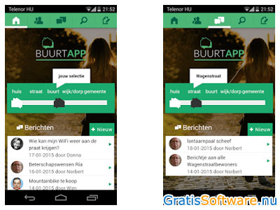 BuurtApp screenshot