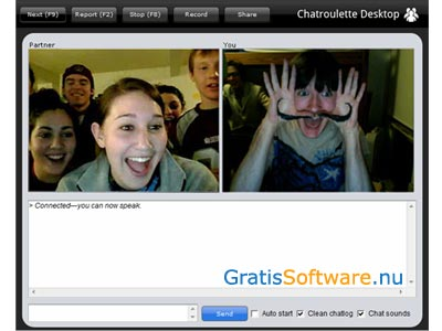 Chatroulette Desktop screenshot