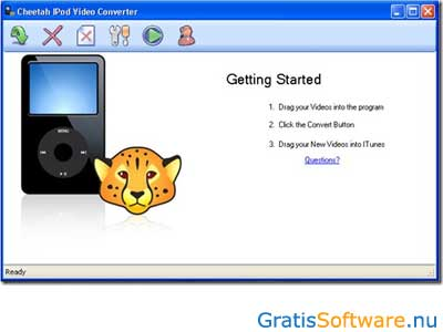 Cheetah IPod Video Converter screenshot
