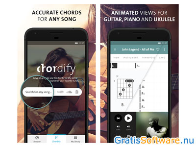 chordify screenshot