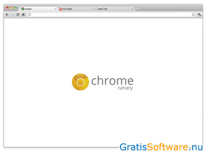 Chrome Canary screenshot
