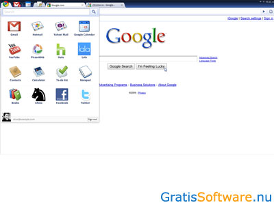 Chromium OS screenshot