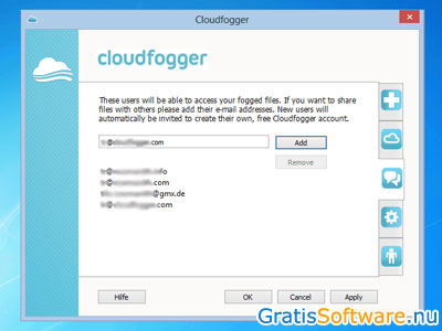Cloudfogger screenshot