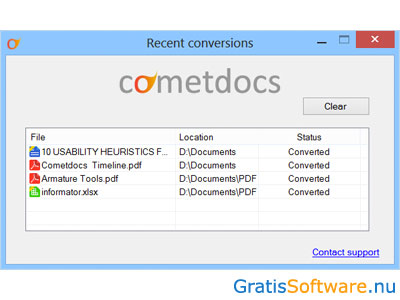 Cometdocs screenshot