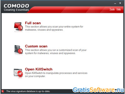 Comodo Cleaning Essentials screenshot