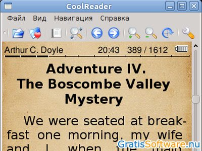 CoolReader screenshot