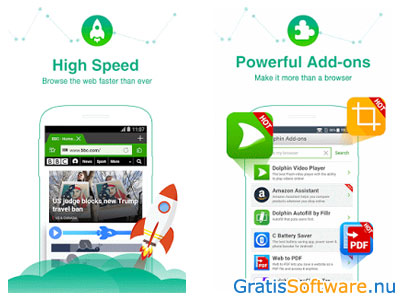Dolphin Browser screenshot