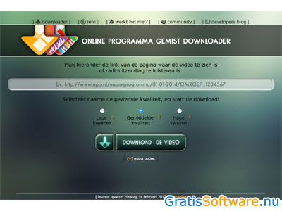 Download Gemist screenshot