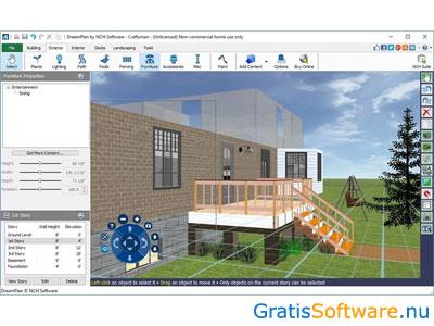 Gratis 3d interieur ontwerp software downloaden for Computer tekenen programma
