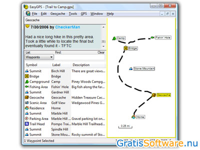 EasyGPS screenshot