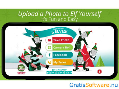 ElfYourself screenshot