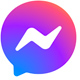 Facebook Messenger chat app logo