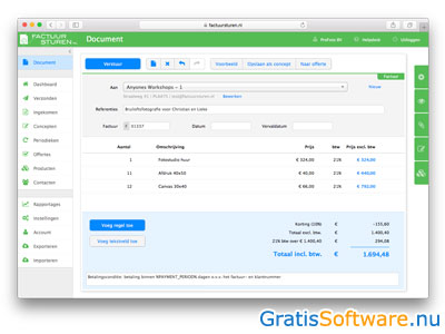 10 Gratis Facturatie Software Downloads