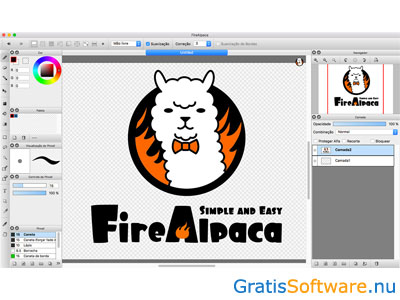 FireAlpaca screenshot