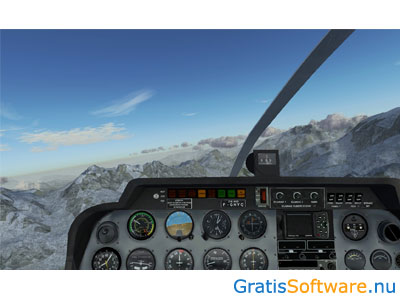 FlightGear Flight Simulator screenshot