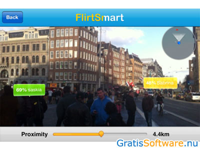 FlirtSmart screenshot