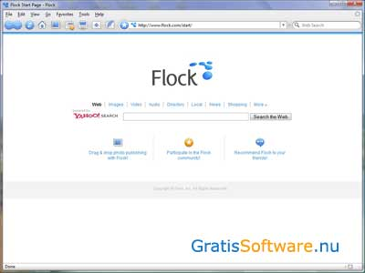 Flock screenshot