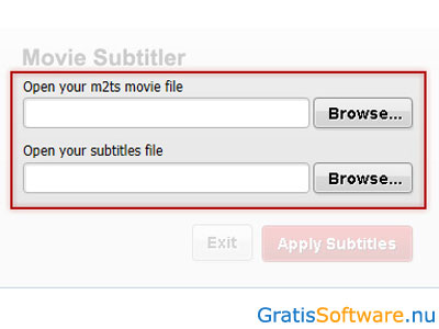 Free Movie Subtitler screenshot