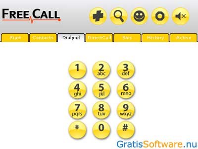 FreeCall screenshot
