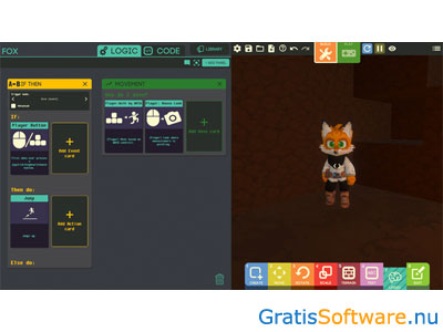 Game Builder screenshot