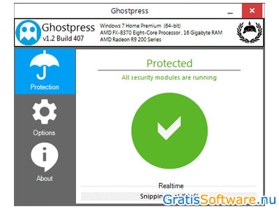 Ghostpress screenshot
