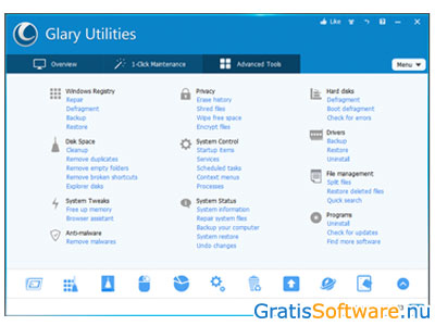 Glary Utilities screenshot