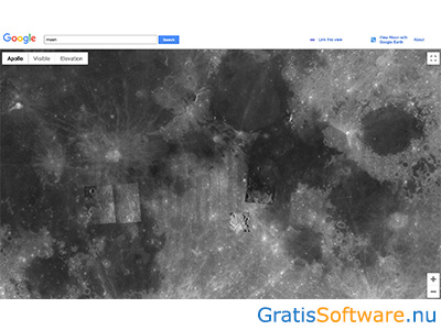 Google Moon screenshot
