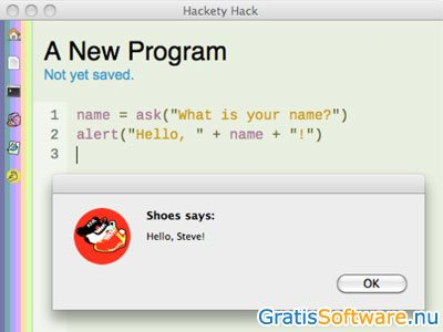 Hackety Hack screenshot