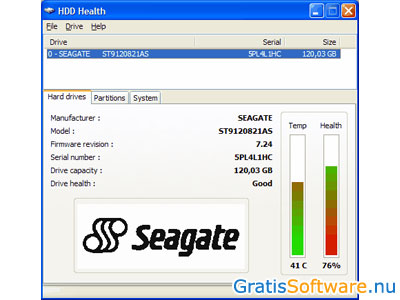 HDD Health screenshot